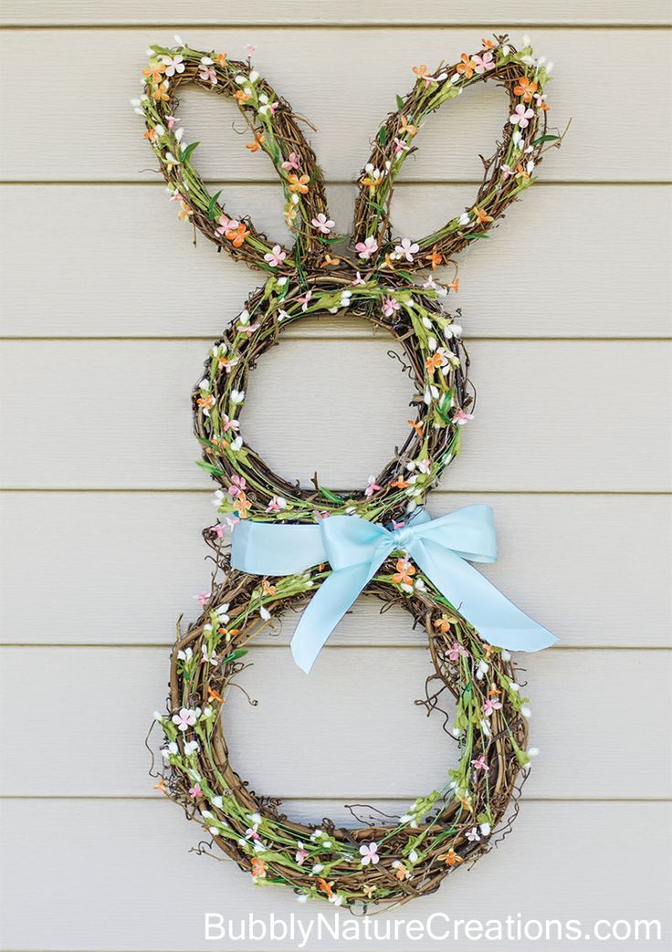 Bunny Wreath from Bubbly Nature Creations