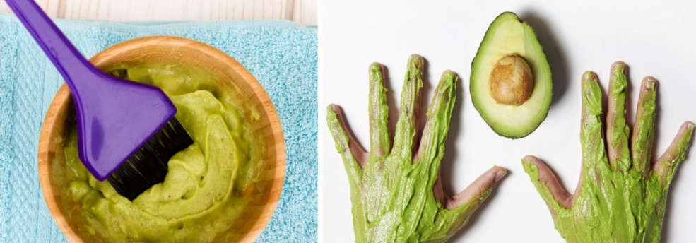 DIY Avocado Beauty Products