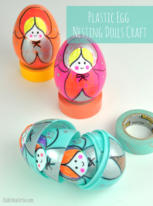Easter Egg Nesting Dolls from Club Chica Circle