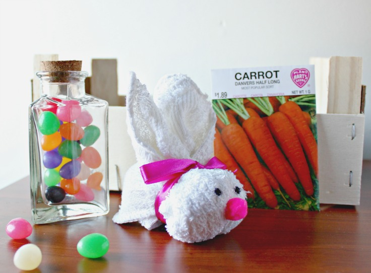 Easy Washcloth Bunny from Confessions of an Over-Worked Mom