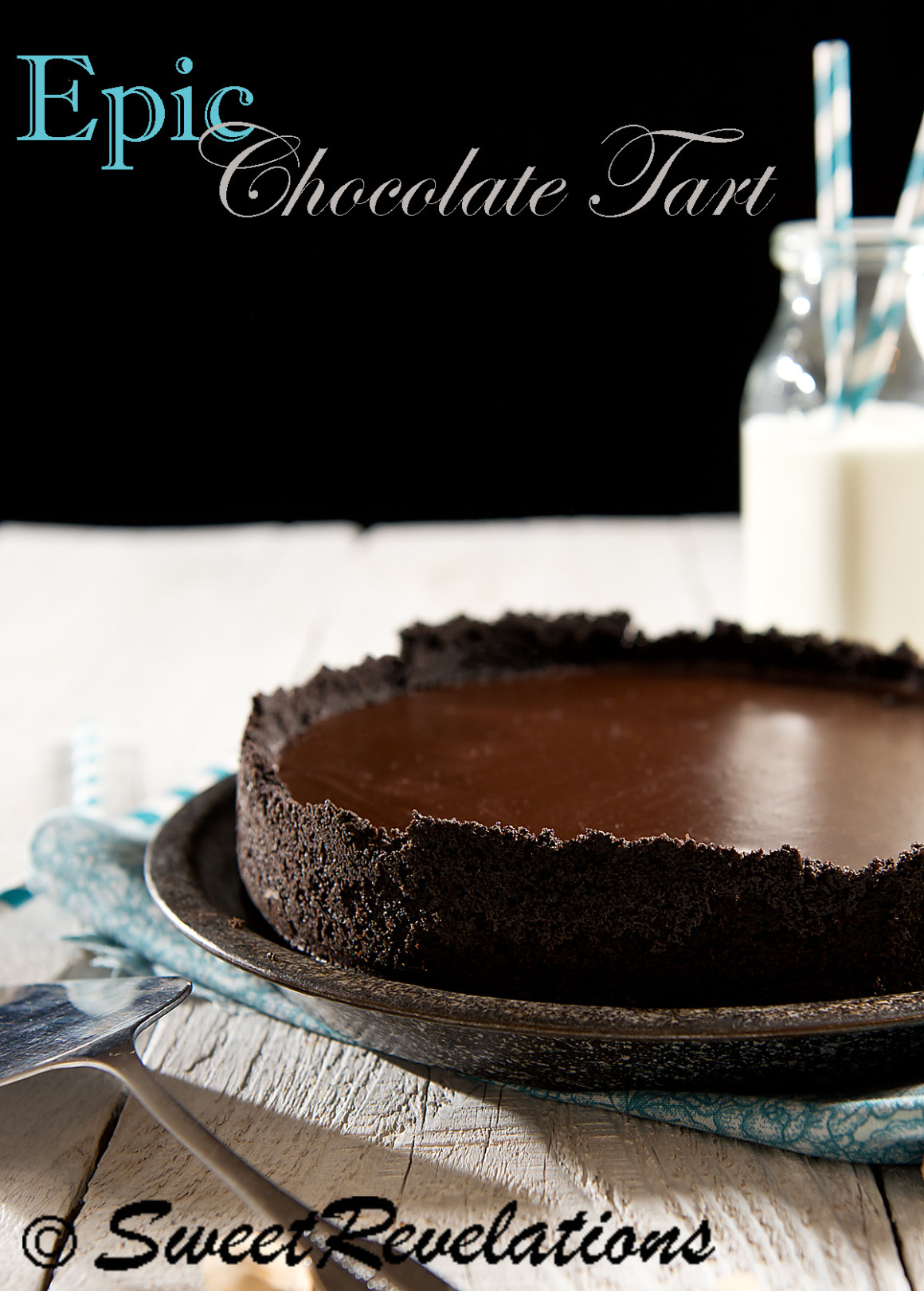 Epic Chocolate Tart Recipe from Sweet Revelations