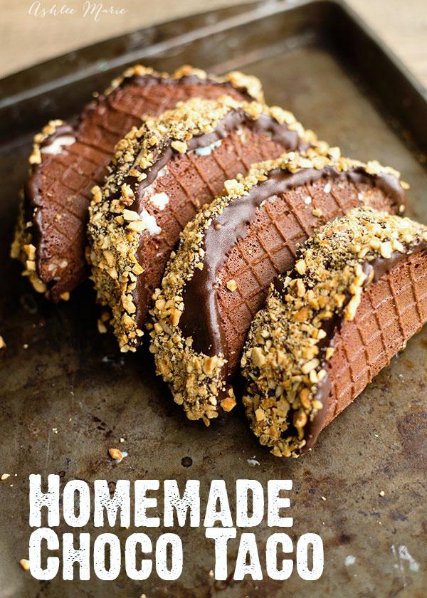Homemade Choco Taco Recipe from Ashlee Marie