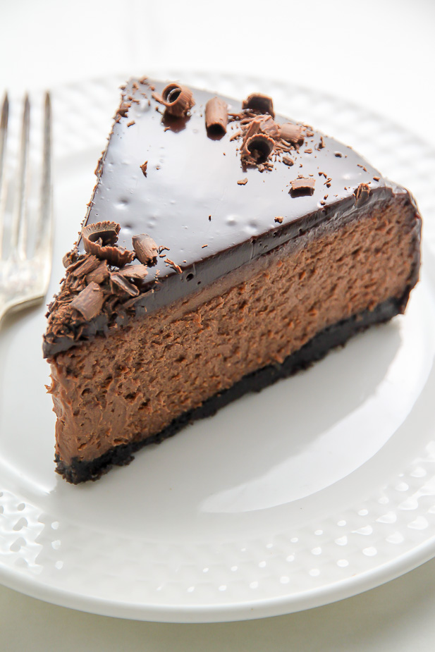 Kahlua Chocolate Cheesecake Recipe from Baker By Nature