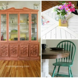 I'm dying to turn my home into one of those vintage furniture, thrift store treasure, DIY Pinterest homes but I'm clueless about what to look for at the antique store! This article was such a huge help. You need to read it before your next thrift store or craigslist purchase! I especially love tip 7. 7 Tips On Buying Furniture at a Thrift Store.
