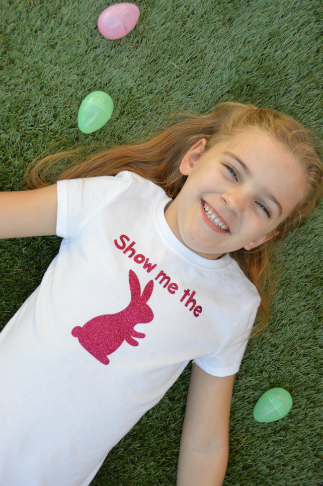 Show Me The Bunny Tee from A Night Owl Blog