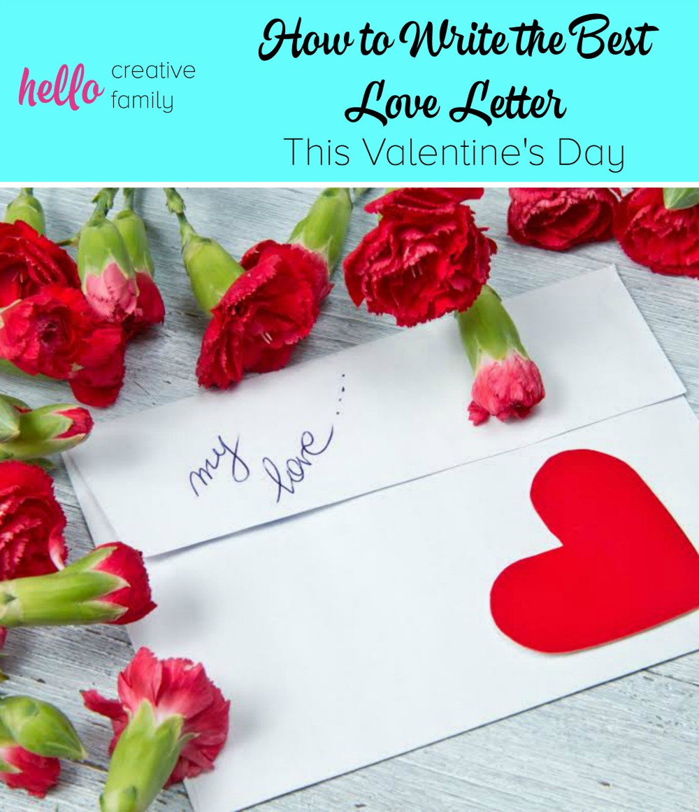 How To Write The Best Love Letter This Valentine S Day Hello