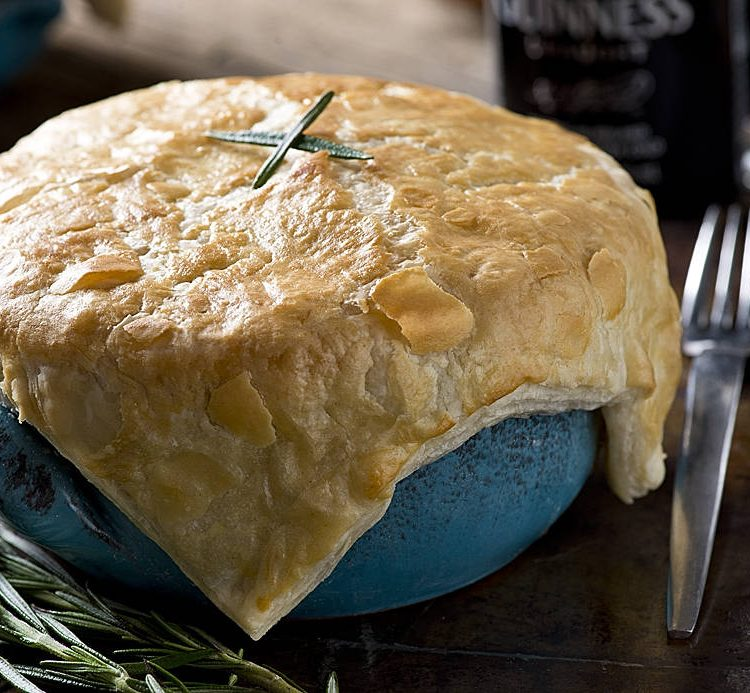 Guinness and Beef Pie Recipe- Sunday Supper Meal Idea