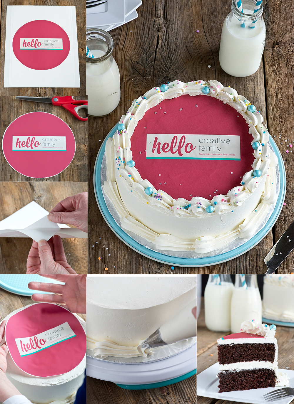 Best Chocolate Cake Recipe Ever Decorated Four Ways Hello