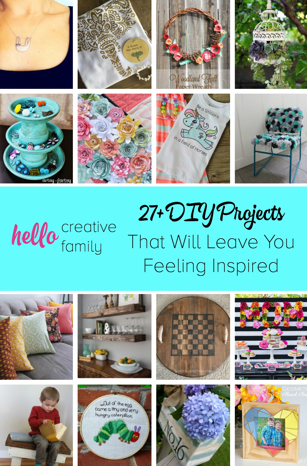 27 Diy Projects From Creative Snap Bloggers That Will Leave You
