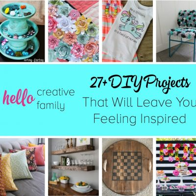 27+ DIY Projects From Creative SNAP Bloggers That Will Leave You Feeling Inspired
