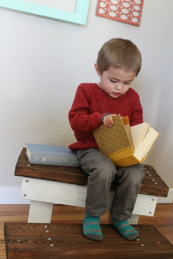 2X4 Step Stool from Mommy Envy