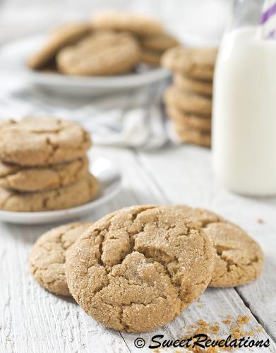 Better Ginger Cookies Recipe