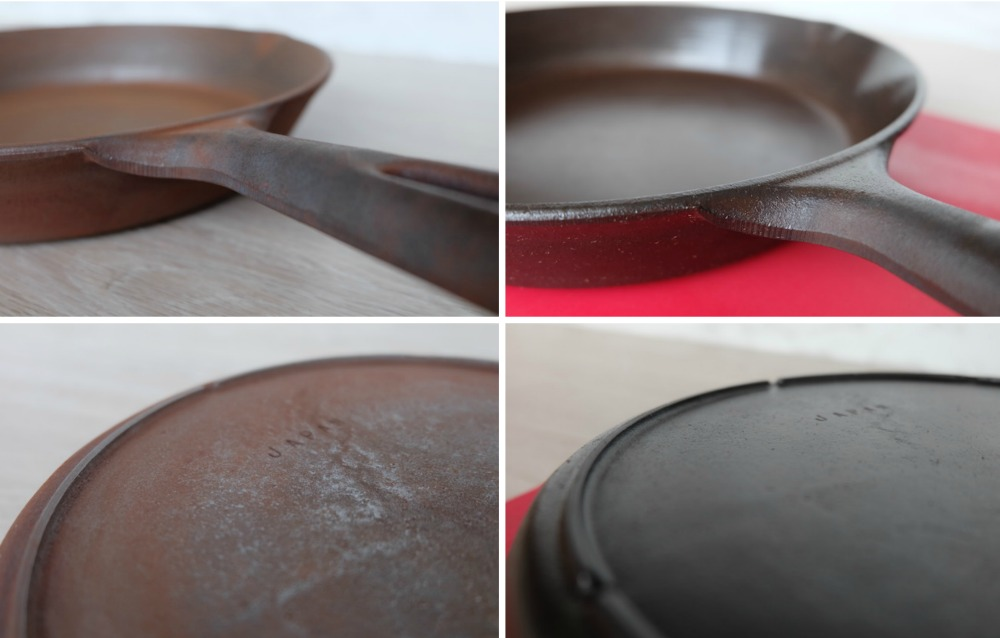 Cooking with cast iron frying pans or skillets is amazing! It's non stick, it adds flavor to your food, and it gives you a sense of heritage to use an old pan. This article walks you through everything you need to know about cast iron frying pans, from buying them used at a vintage or thrift store, to refurbishing it, seasoning it and cleaning it! Everything you need to know to refurbish a cast iron frying pan!
