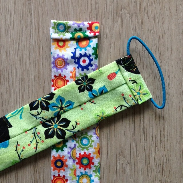 5 minute fabric scrap bookmark sewing tutorial. Black Bedroom Furniture Sets. Home Design Ideas