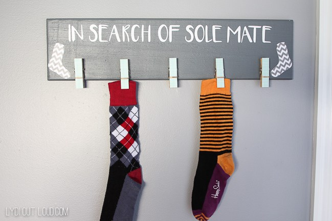 In Search Of Sole Mate Sign from Lydi Out Loud
