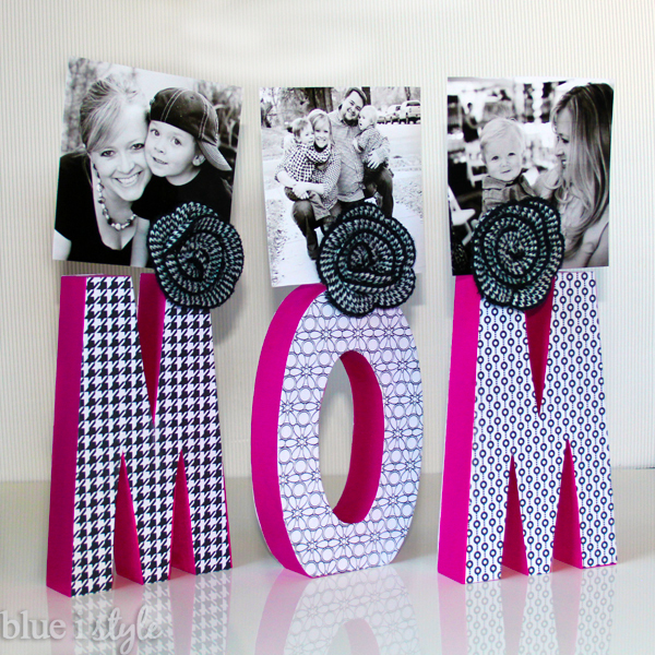 Mom Photo Display from Blue i Style