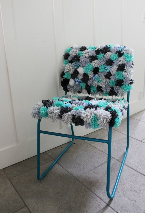 Pom Pom Chair from Brooklyn Berry Designs