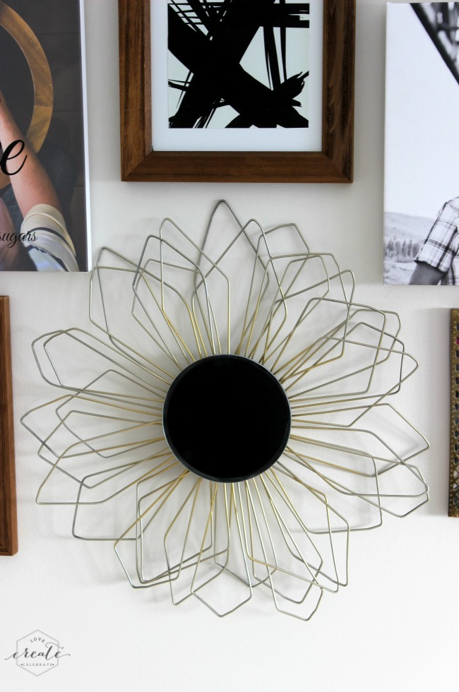 Sunburst Mirror from Love Create Celebrate