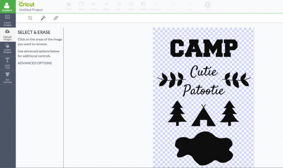 Send your little camper off to summer camp in style with a DIY Camp Cutie Patootie tank top or tshirt. Cut file included so you can make this project on the Cricut Explore.