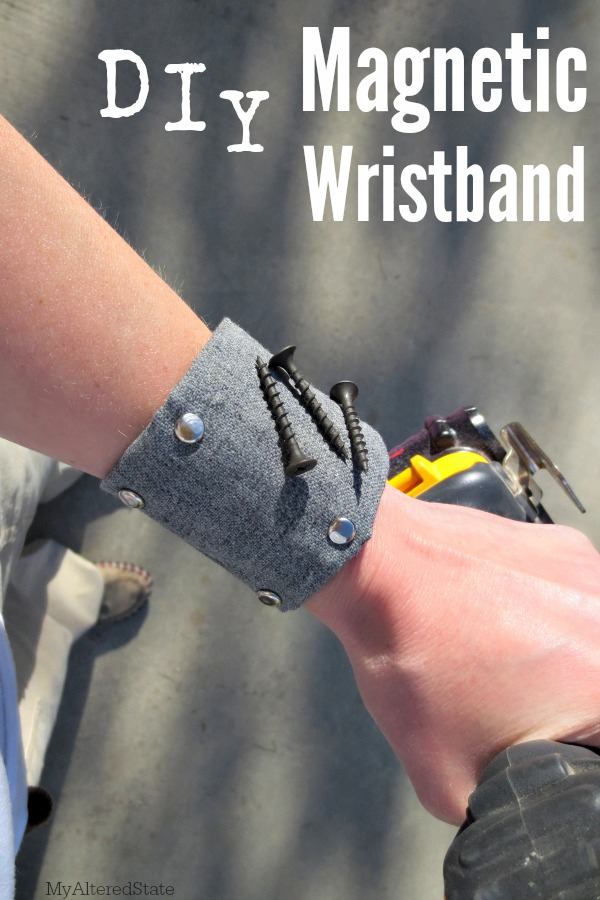 DIY Mangnetic Wristband from My Altered State