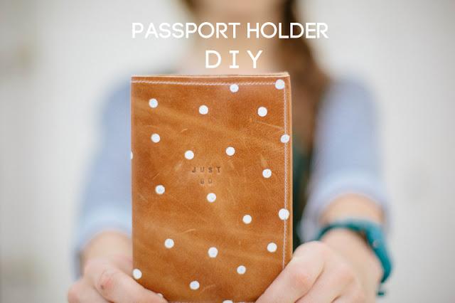 DIY Passport Holder from Always Rooney