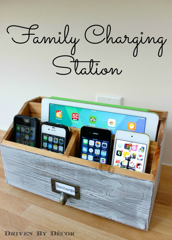 Family Charging Station from Driven by DecorFamily Charging Station from Driven by Decor