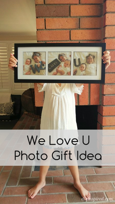 Family Photo Shoot Gift Idea from DIY Inspired