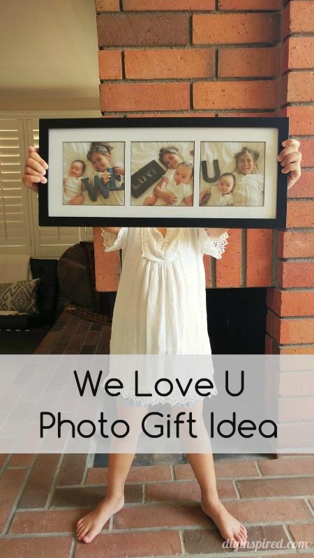 Family Photo Shoot Gift Idea From DIY Inspired