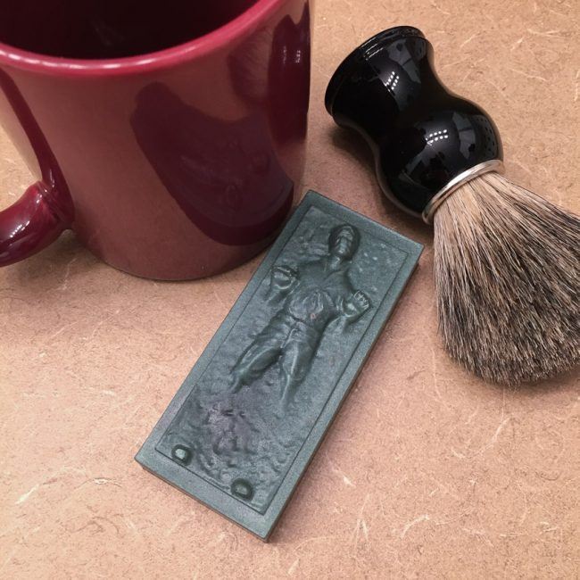 Frozen Hans Solo Soap from Craft Critique