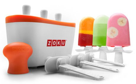 The zoku quick pop maker with have delicious popsicles ready to eat in just 7 minutes!