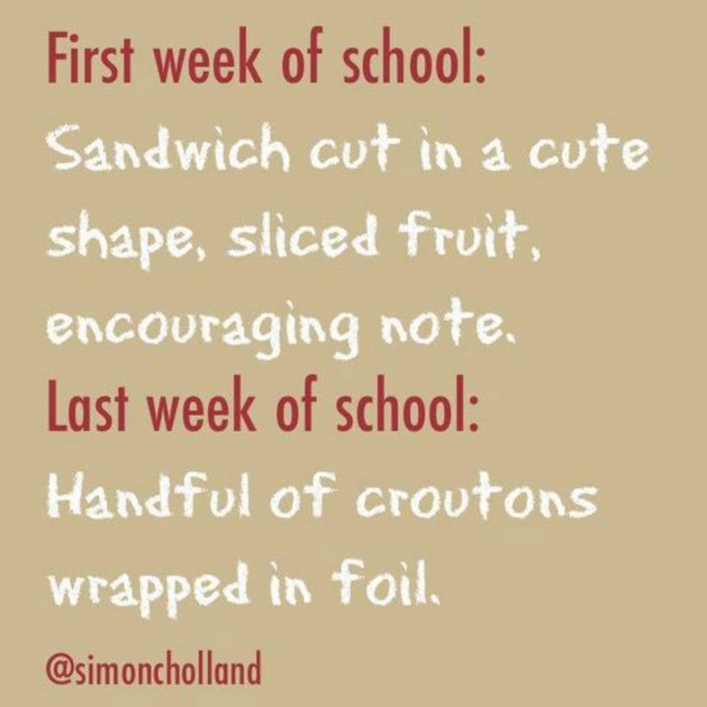 25 Hilarious Parenting Memes - School