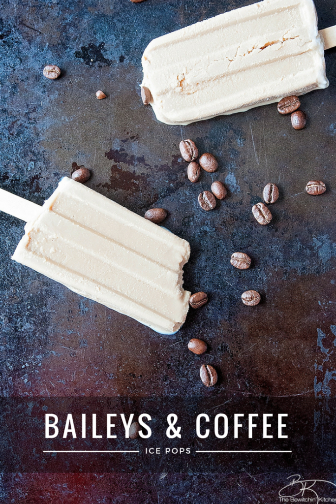 Baileys and Coffee Ice Pop Recipe from The Bewitchin Kitchen