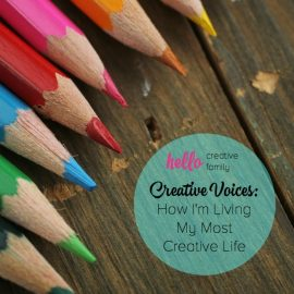 Are you the happiest when being creative? One writer shares the mental obstacles she had to overcome to live her most creative life.