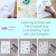 Learning to Draw with The Creative Bug Line Drawing Class With Lisa Congdon
