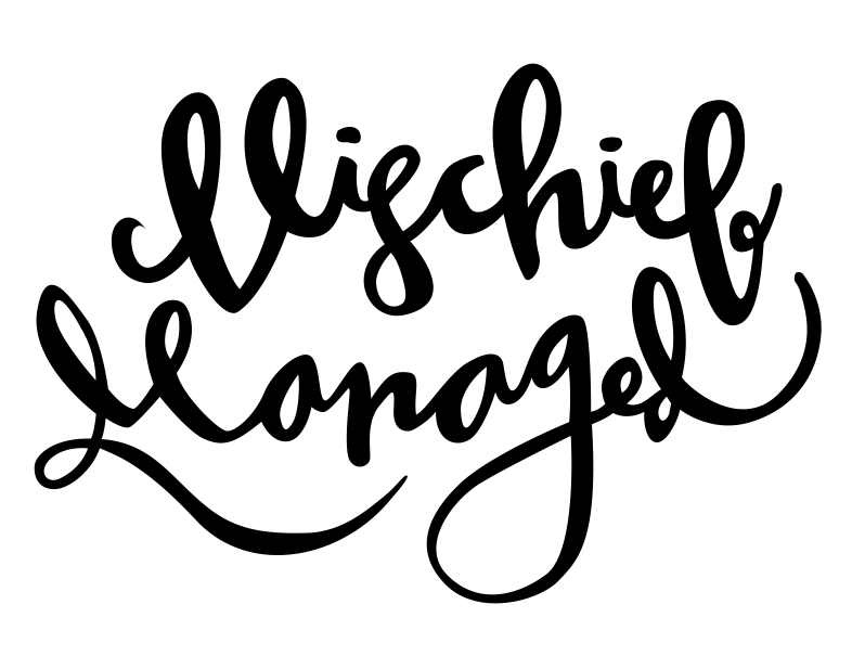 "Gorgeous, hand lettered ""Mischief Managed"" Harry Potter quote free SVG file, perfect for shirts made on the Cricut!"