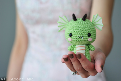 27 Crochet Projects That Are Going To Make You Want To Learn How To Crochet: Amigurumi Dragon Crochet Pattern from All About Ami