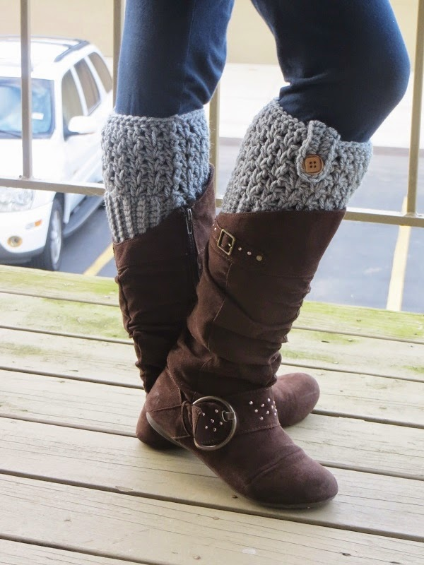 27 Crochet Projects That Are Going To Make You Want To Learn How To Crochet: Bailey Boot Cuff Crochet Pattern from Crochet Dreamz