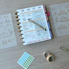 How To Make DIY Planner Stencils (Perfect for Happy Planners)