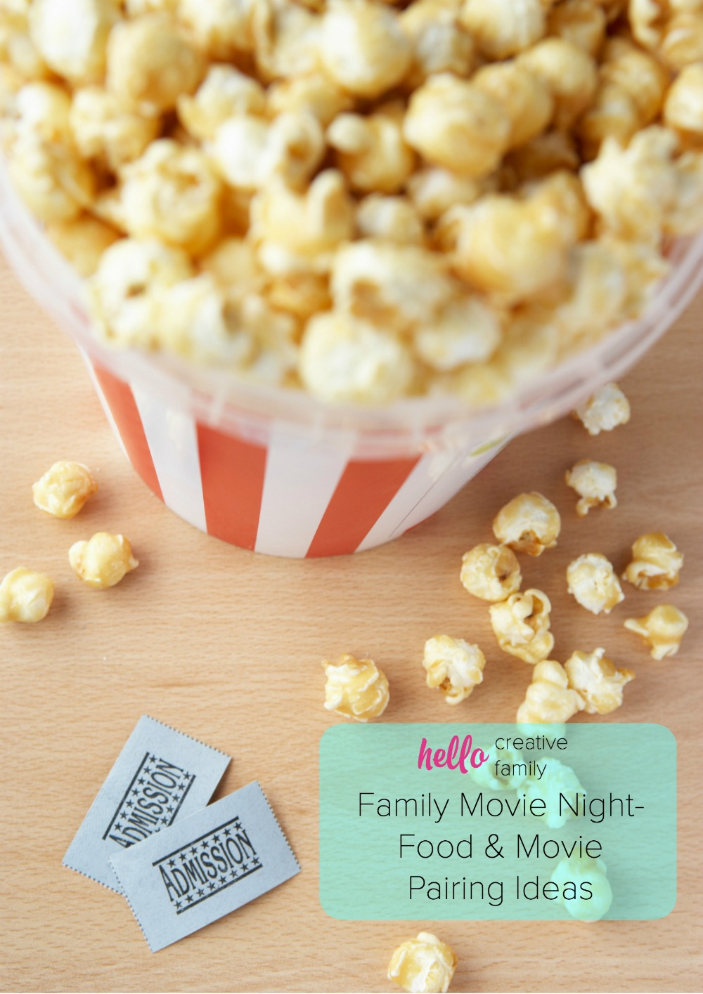 Gather the family, pick out a movie, create a delcious snack and turn on Netflix! Here are some fun food and movie pairing ideas! You're going to love these creative movie and recipe combinations!
