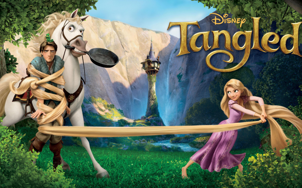 Family Movie Night on Hello Creative Family - Tangled