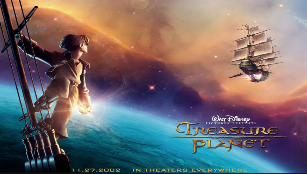 Family Movie Night on Hello Creative Family - Treasure Planet