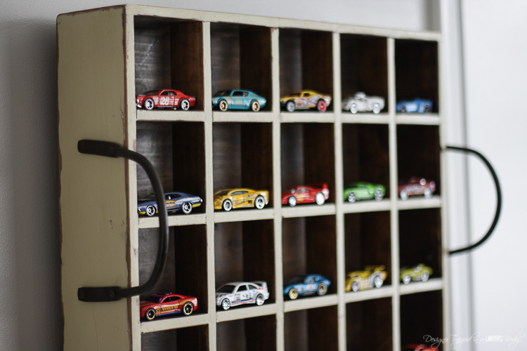Hot Wheels Vintage Milk Crate Wall Display from Designer Trapped