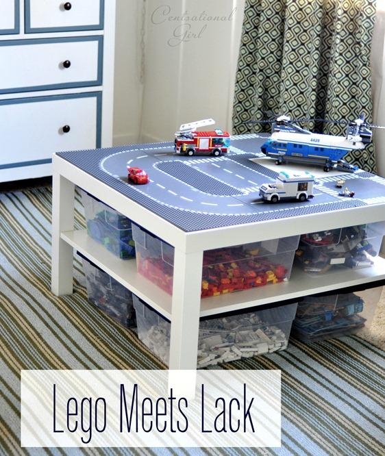 Lego Toy Car Table from Centsational Girl