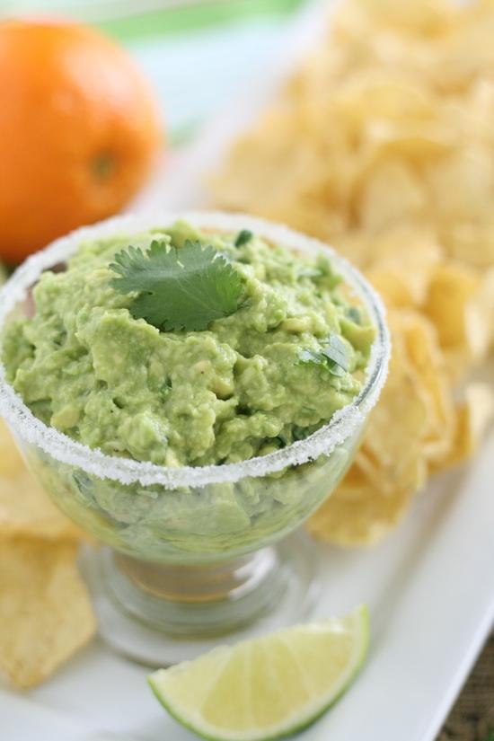 Margarita Guacamole Recipe from Lauren's Latest
