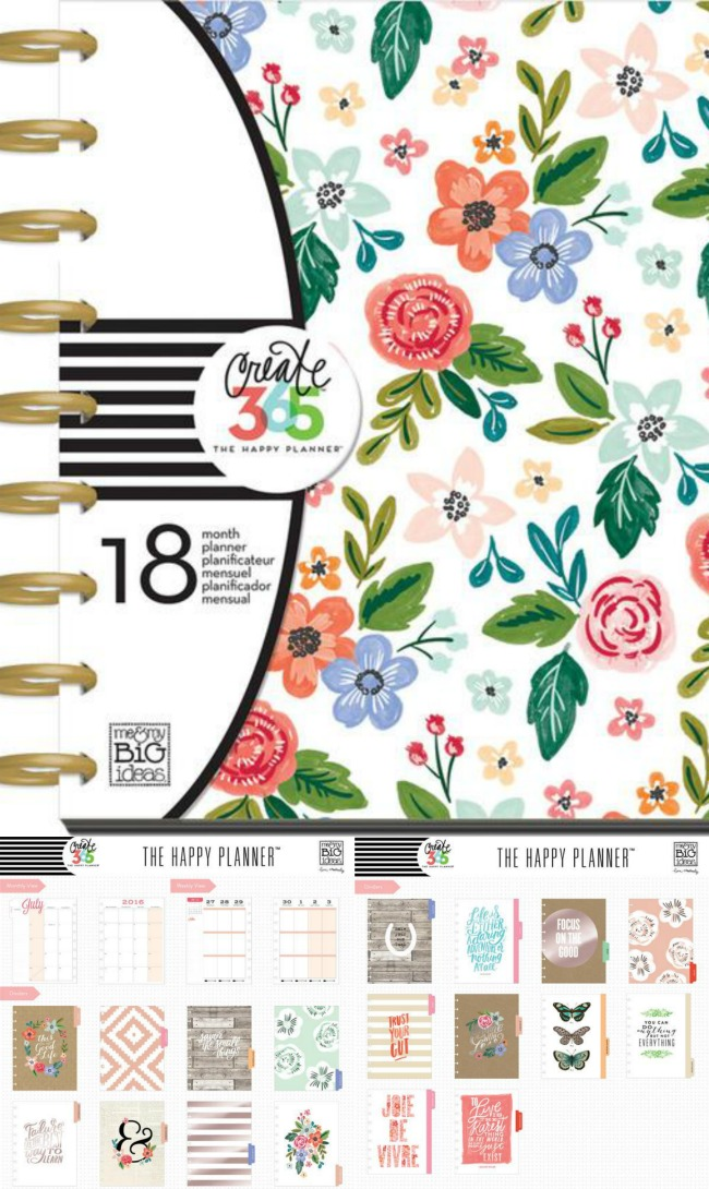 Fresh Floral Happy Planner