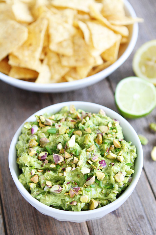 Pistachio Guacamole Recipe from Two Peas and Their Pod