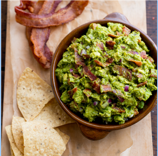 Bacon Guacamole Recipe from Food & Wine