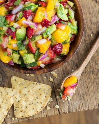 Strawberry Mango Guacamole Recipe from Oh She Glows on Austin 360