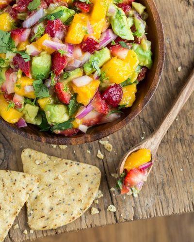 Strawberry Mango Guacamole Recipe from Oh She Glows on Austin 360
