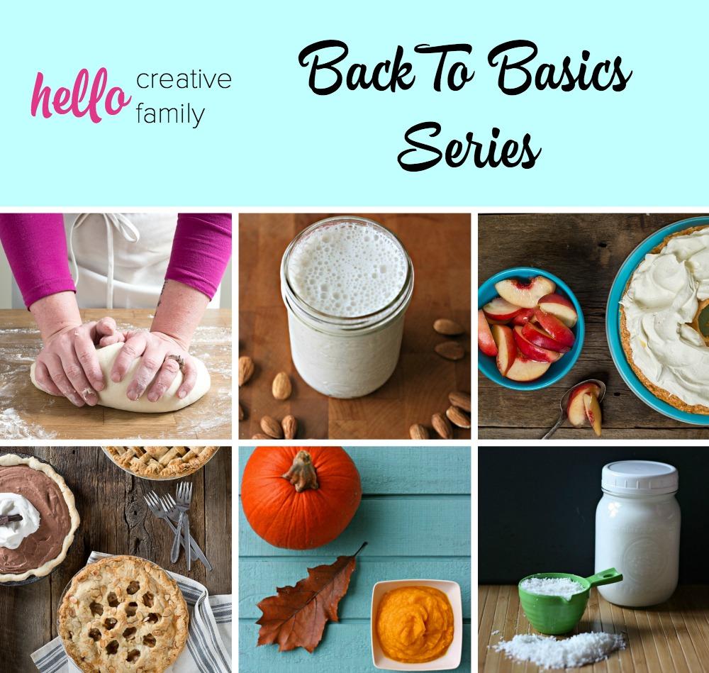 Back To Basics Series